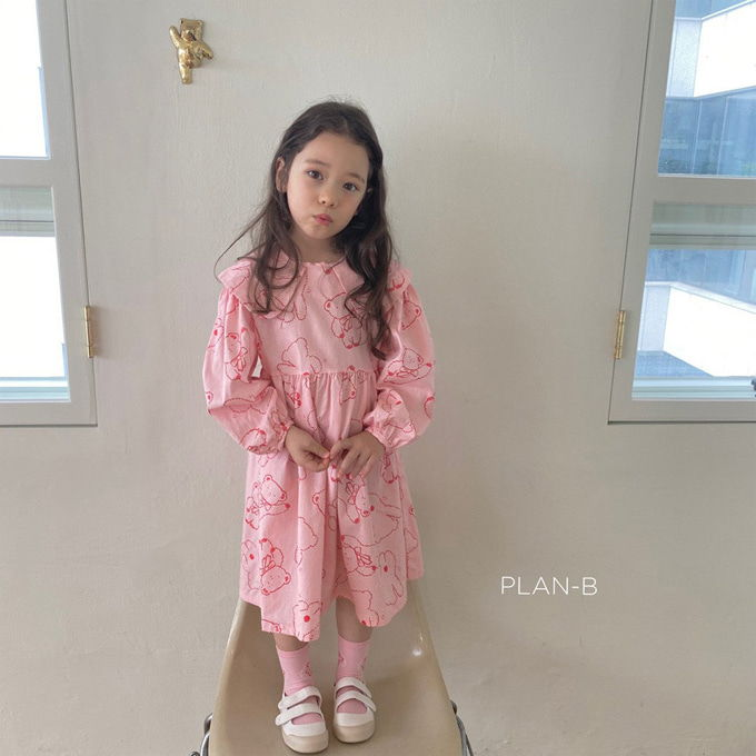 PLAN B - BRAND - Korean Children Fashion - #Kfashion4kids - Bear One-piece