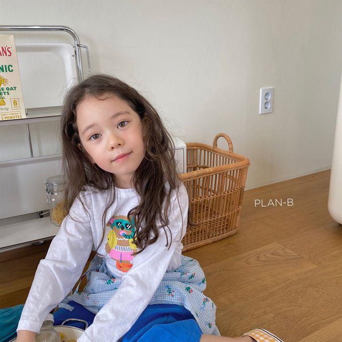 PLAN B - BRAND - Korean Children Fashion - #Kfashion4kids - Skin Scuba Bear Tee