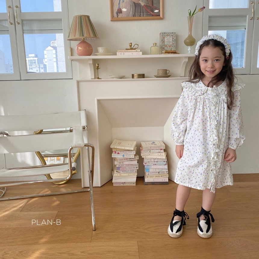 PLAN B - Korean Children Fashion - #Kfashion4kids - Mai Mai Rang One-piece