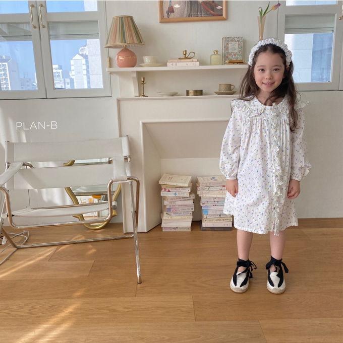 PLAN B - BRAND - Korean Children Fashion - #Kfashion4kids - Mai Mai Rang One-piece