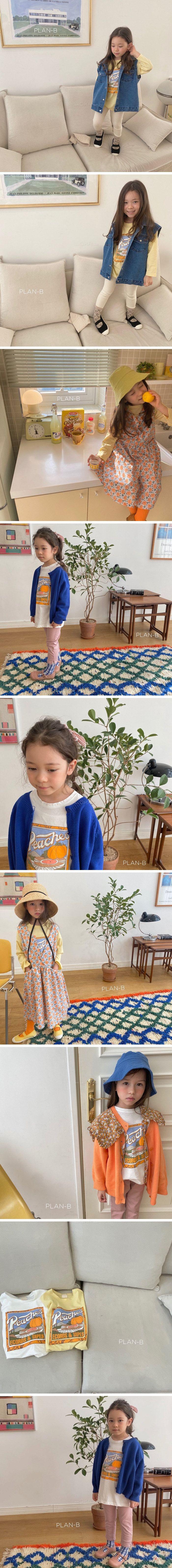 PLAN B - Korean Children Fashion - #Kfashion4kids - Painting Tee