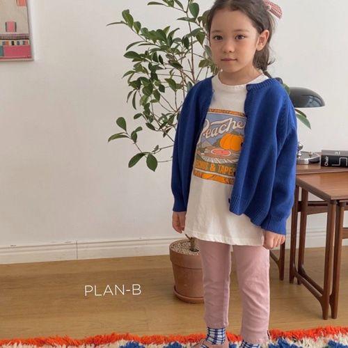 PLAN B - BRAND - Korean Children Fashion - #Kfashion4kids - Painting Tee