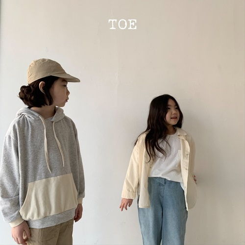 TOE - BRAND - Korean Children Fashion - #Kfashion4kids - Campion Mono Hoody Top