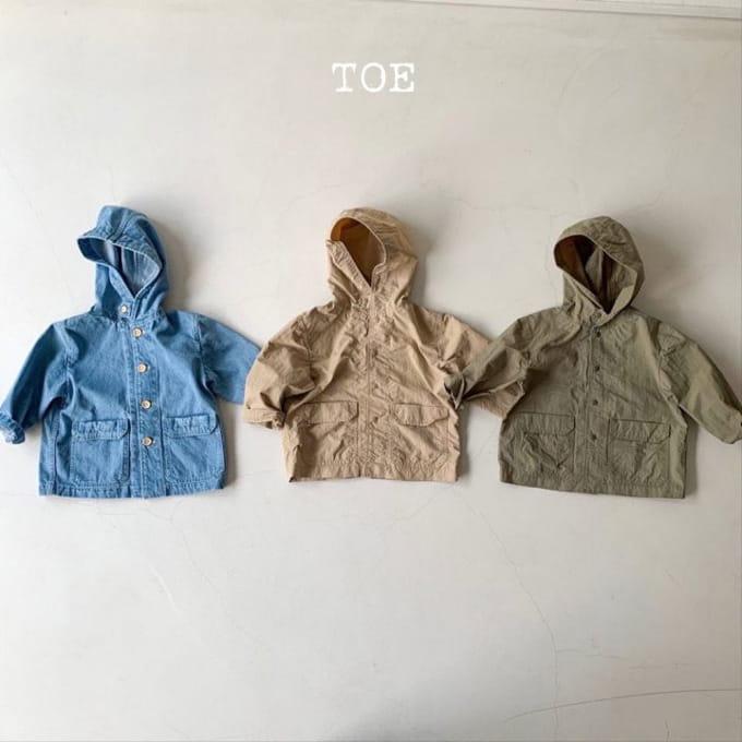 TOE - BRAND - Korean Children Fashion - #Kfashion4kids - Single Tone Washa Jacket