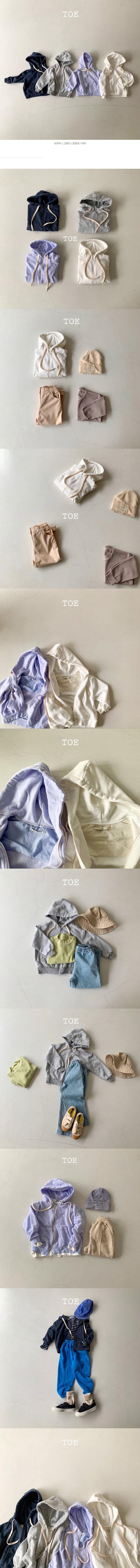 TOE - Korean Children Fashion - #Kfashion4kids - Daily Hood Zip-up Jacket - 2