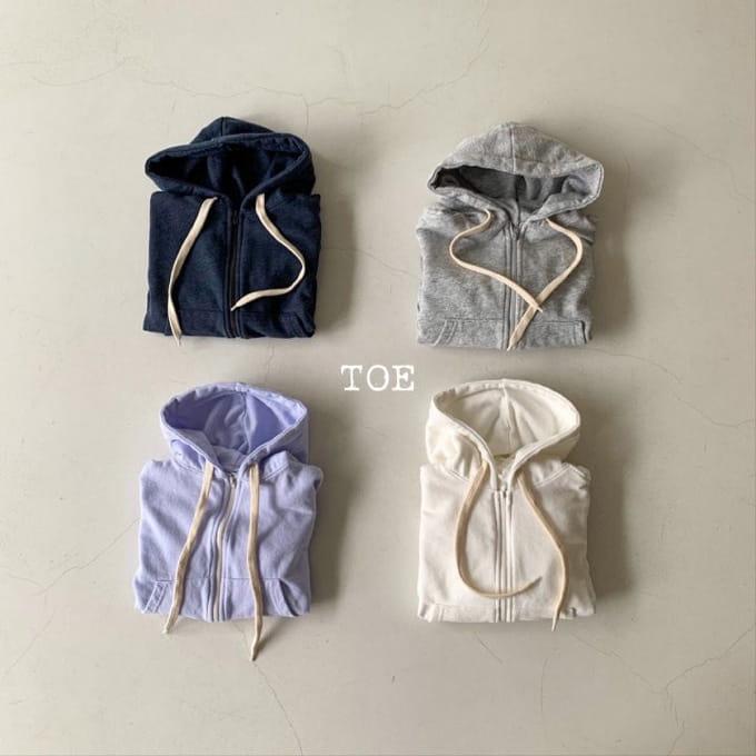 TOE - BRAND - Korean Children Fashion - #Kfashion4kids - Daily Hood Zip-up Jacket