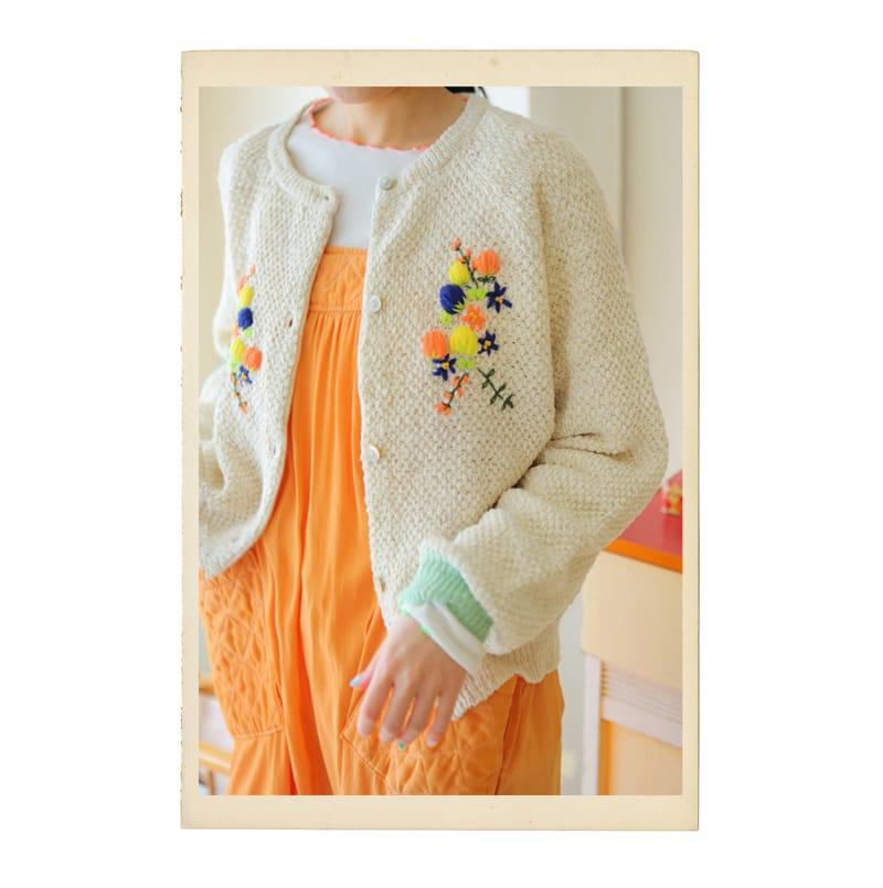 AMBER - Korean Children Fashion - #Kfashion4kids - Mom Lema Cardigan