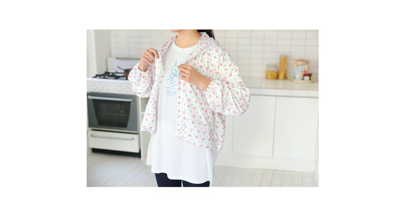AMBER - Korean Children Fashion - #Kfashion4kids - Mom Popo Hoody Zip-up