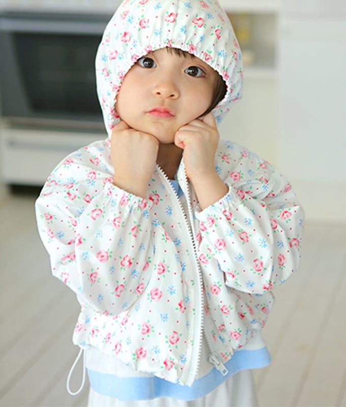 AMBER - BRAND - Korean Children Fashion - #Kfashion4kids - Popo Hoody Zip-up