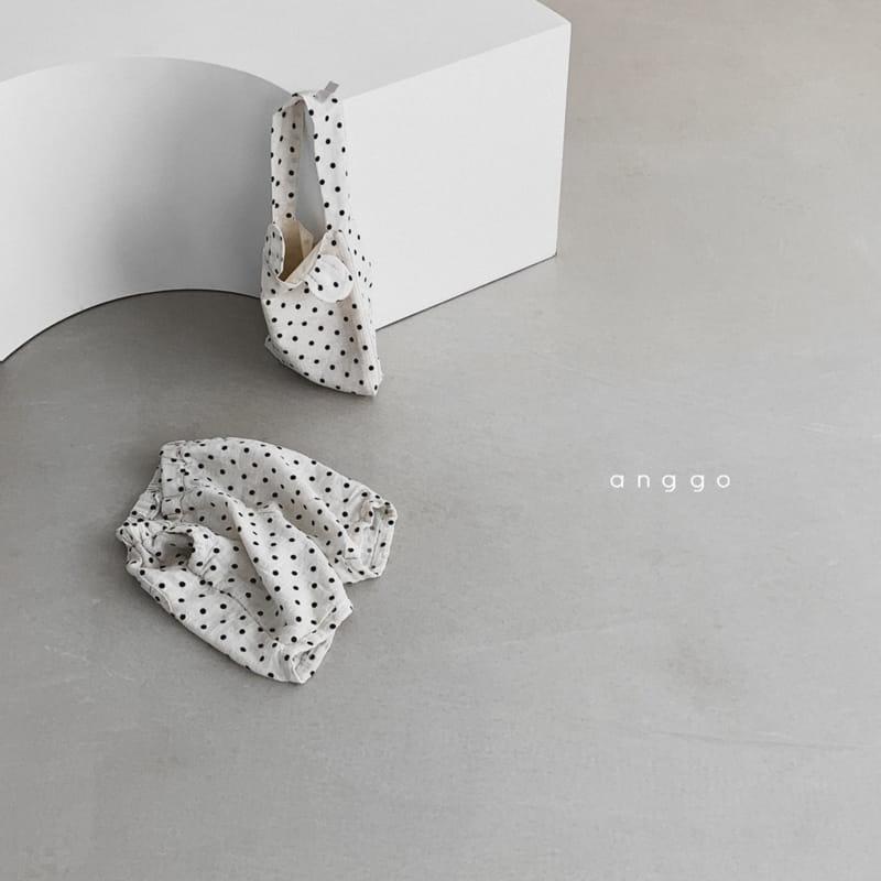 ANGGO - Korean Children Fashion - #Kfashion4kids - Lentils Dots Bag - 10