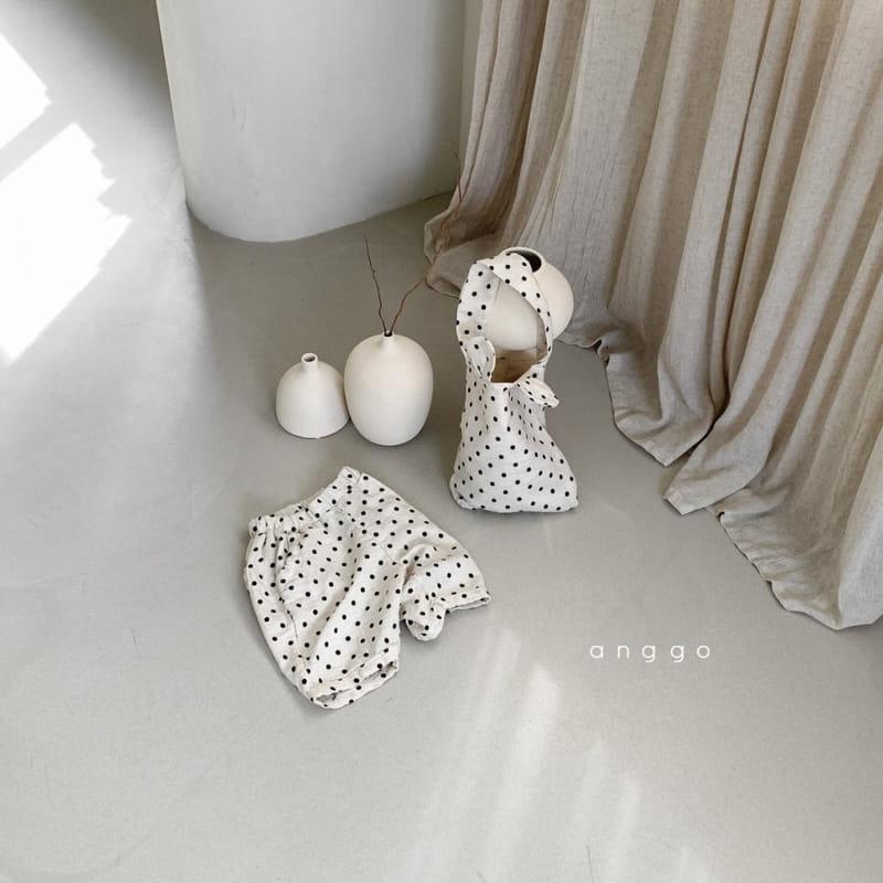 ANGGO - Korean Children Fashion - #Kfashion4kids - Lentils Dots Bag - 8