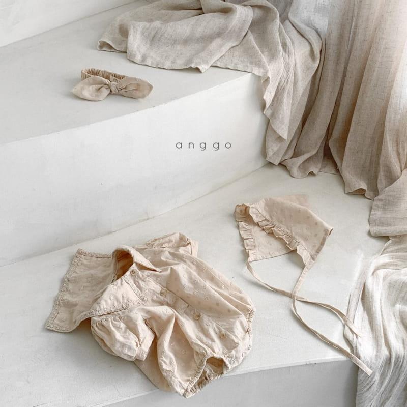 ANGGO - Korean Children Fashion - #Kfashion4kids - Baby Loshua Bodysuit - 4