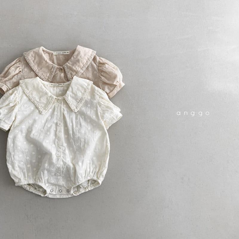 ANGGO - BRAND - Korean Children Fashion - #Kfashion4kids - Baby Loshua Bodysuit