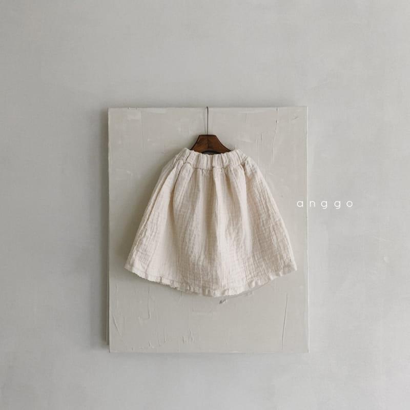ANGGO - Korean Children Fashion - #Kfashion4kids - Con Panna Skirt - 2