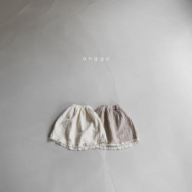 ANGGO - Korean Children Fashion - #Kfashion4kids - Con Panna Skirt - 3
