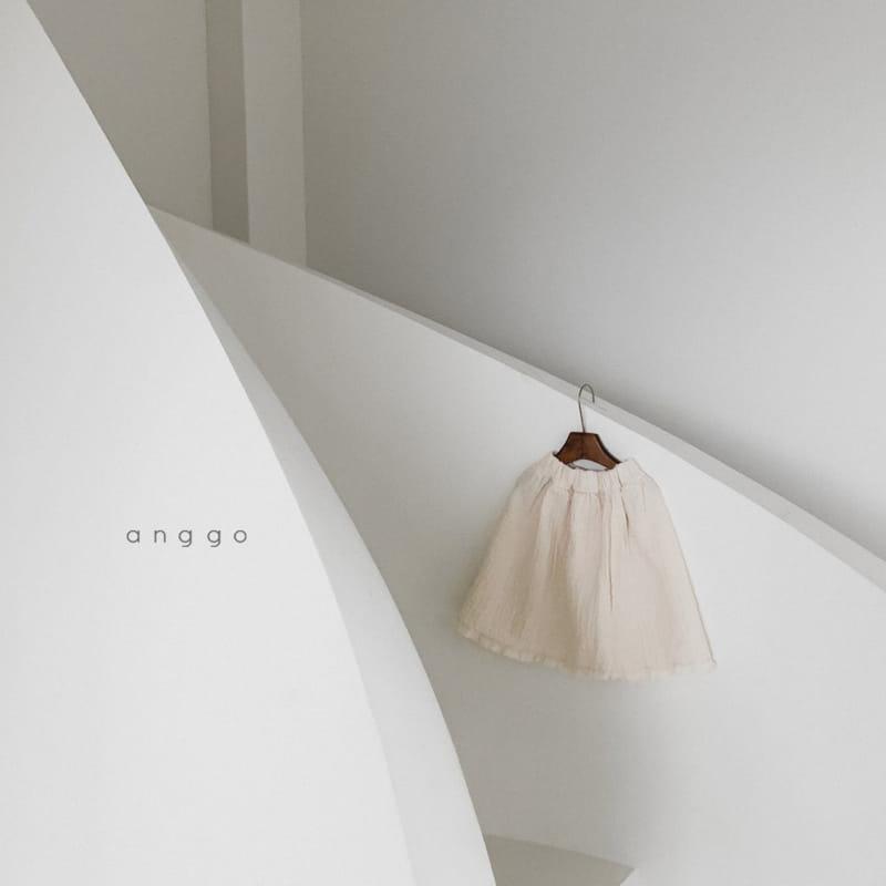 ANGGO - Korean Children Fashion - #Kfashion4kids - Con Panna Skirt - 7