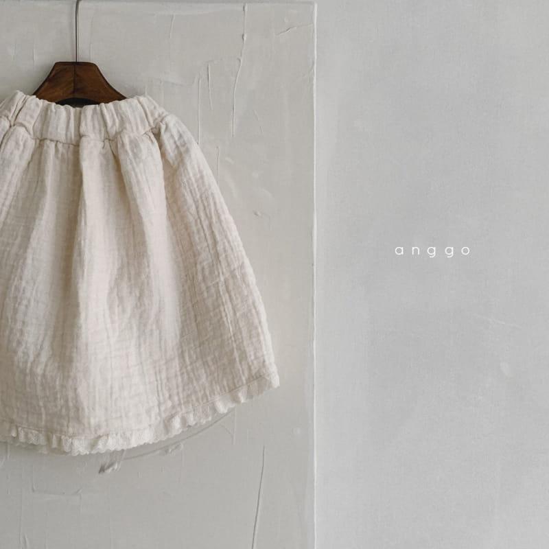 ANGGO - Korean Children Fashion - #Kfashion4kids - Con Panna Skirt - 9