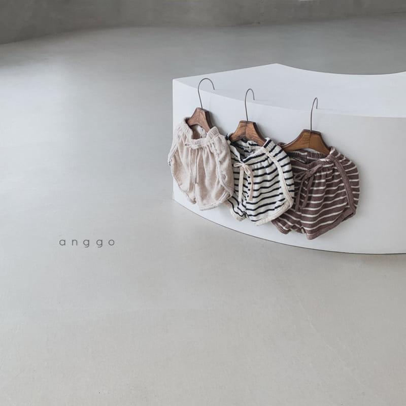 ANGGO - Korean Children Fashion - #Kfashion4kids - Coco Parm Shorts - 8