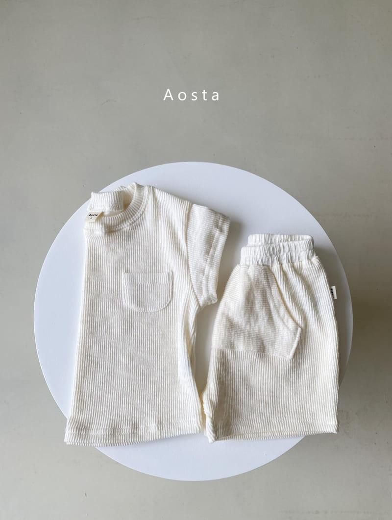 AOSTA - Korean Children Fashion - #Kfashion4kids - Butter Scoop Tee