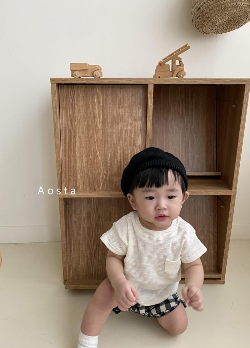 AOSTA - Korean Children Fashion - #Kfashion4kids - Butter Scoop Tee - 2