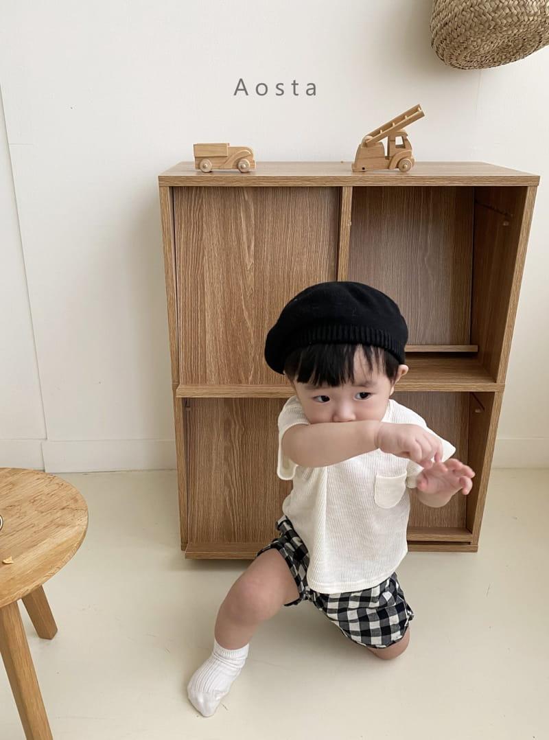 AOSTA - Korean Children Fashion - #Kfashion4kids - Butter Scoop Tee - 3