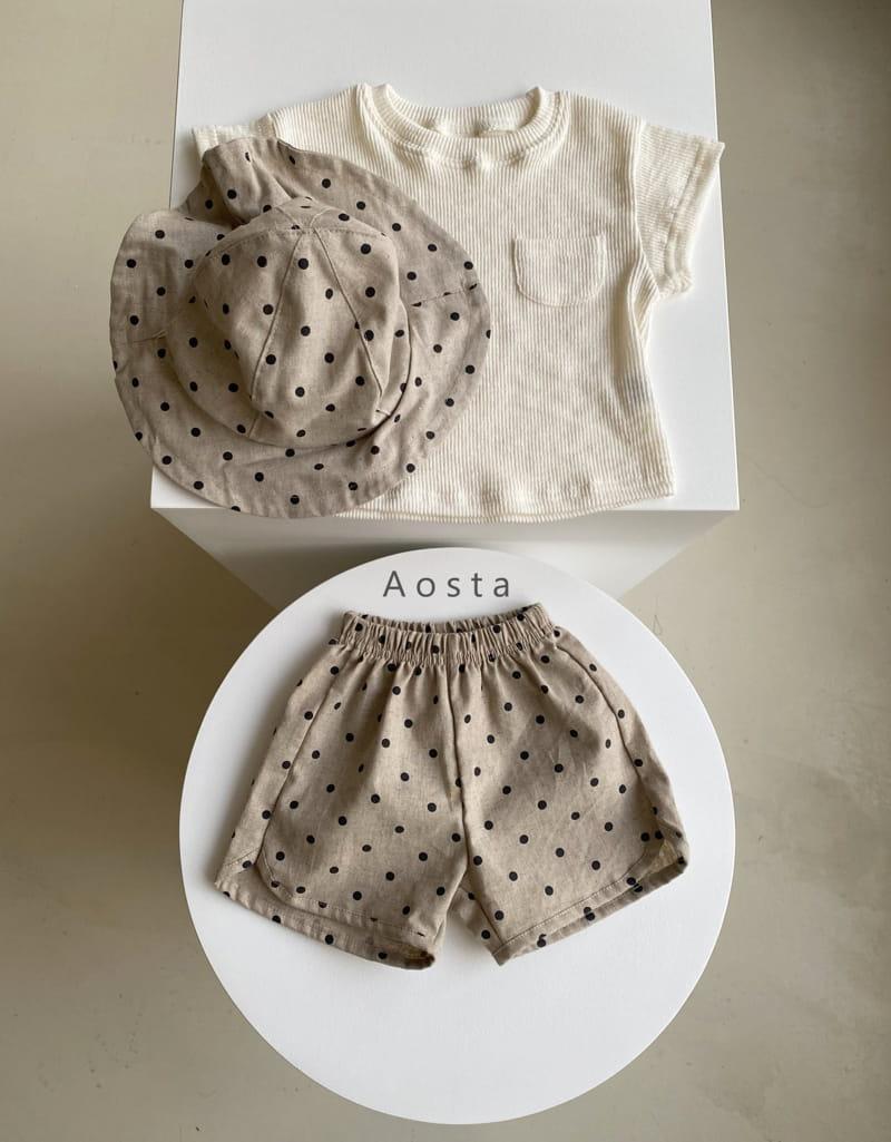 AOSTA - Korean Children Fashion - #Kfashion4kids - Butter Scoop Tee - 6
