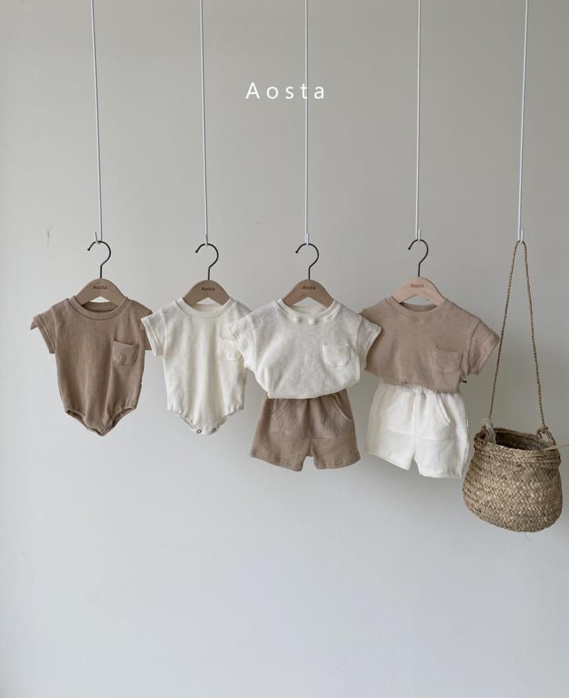 AOSTA - Korean Children Fashion - #Kfashion4kids - Butter Scoop Tee - 7