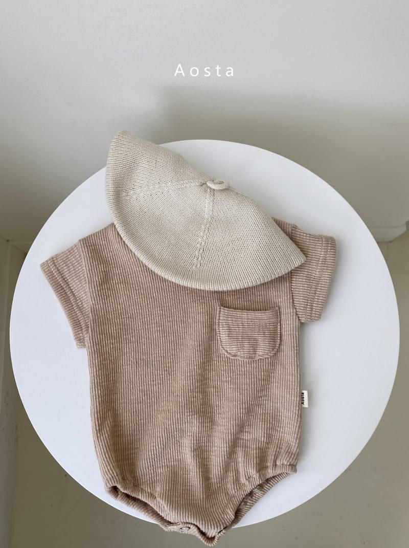 AOSTA - Korean Children Fashion - #Kfashion4kids - Butter Scoop Bodysuit - 3