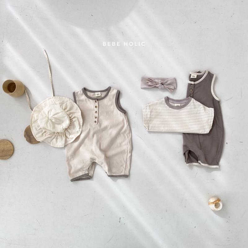 BEBE HOLIC - Korean Children Fashion - #Kfashion4kids - Silket Bodysuit - 4