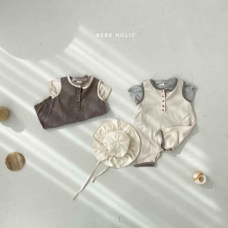 BEBE HOLIC - Korean Children Fashion - #Kfashion4kids - Silket Bodysuit - 6