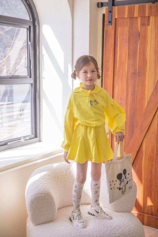 BERRY BERRY - Korean Children Fashion - #Kfashion4kids - Haribo Top Skirt Set - 6