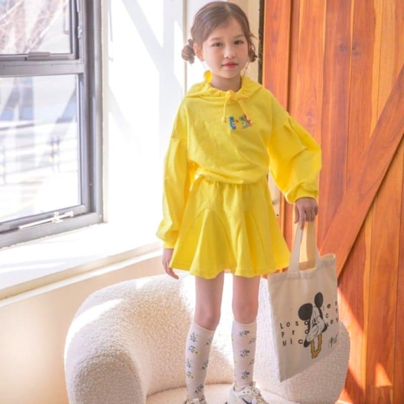 BERRY BERRY - BRAND - Korean Children Fashion - #Kfashion4kids - Haribo Top Skirt Set