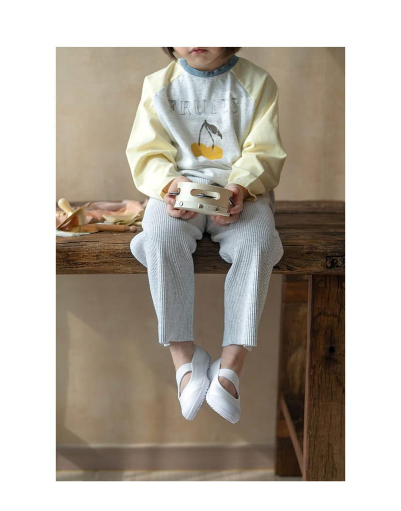 BIEN A BIEN - Korean Children Fashion - #Kfashion4kids - Rib Pants