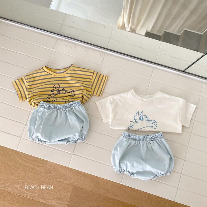 BLACK BEAN - BRAND - Korean Children Fashion - #Kfashion4kids - Dots Bloomer Tee Set