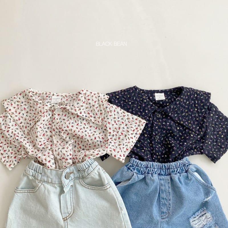 BLACK BEAN - BRAND - Korean Children Fashion - #Kfashion4kids - Bubble Blouse
