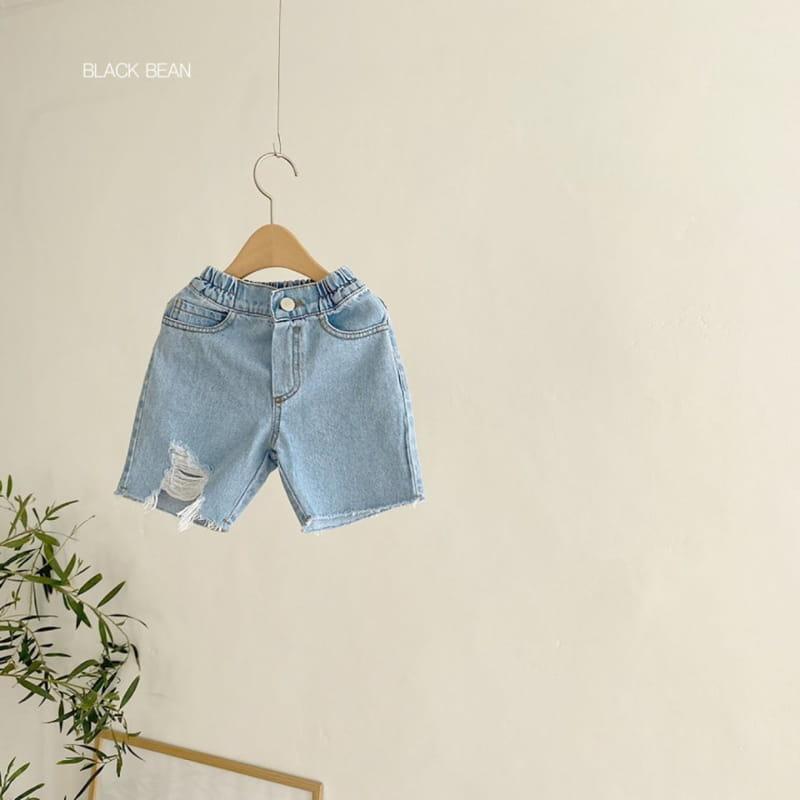 BLACK BEAN - BRAND - Korean Children Fashion - #Kfashion4kids - 197 Denim Shorts