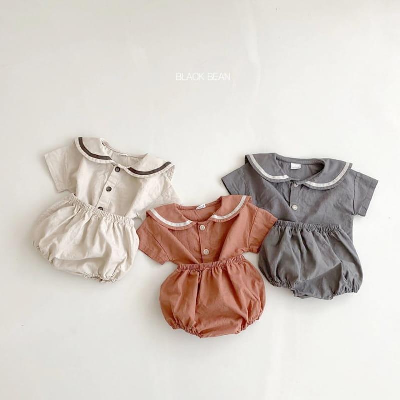 BLACK BEAN - BRAND - Korean Children Fashion - #Kfashion4kids - Mabel Bloomer Top Set