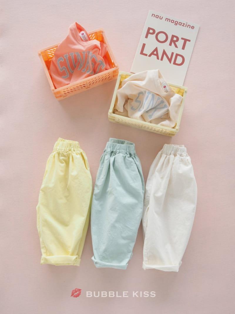 BUBBLE KISS - BRAND - Korean Children Fashion - #Kfashion4kids - Cotton Candy Pants
