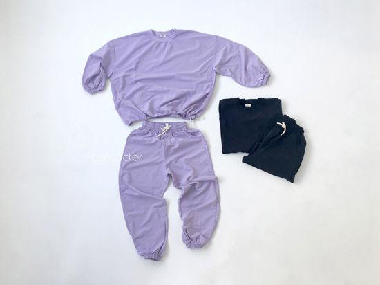 CONCOCTER - Korean Children Fashion - #Kfashion4kids - Mom Lalala Anorak Top Bottom Set  - 3