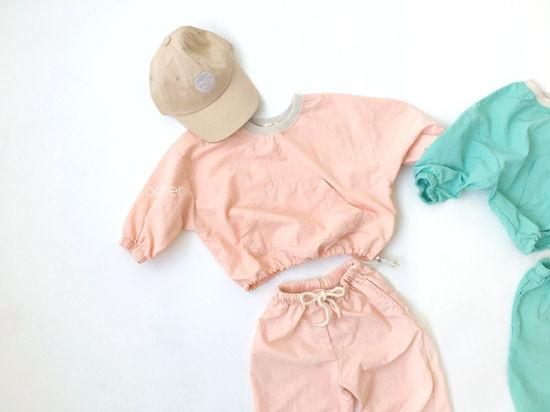 CONCOCTER - Korean Children Fashion - #Kfashion4kids - Lalala Anorak Top Bottom Set