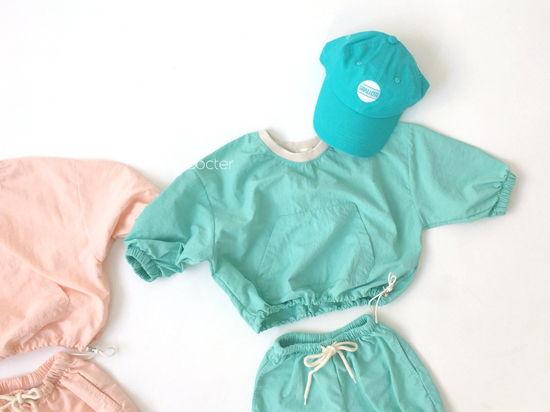 CONCOCTER - Korean Children Fashion - #Kfashion4kids - Lalala Anorak Top Bottom Set - 2