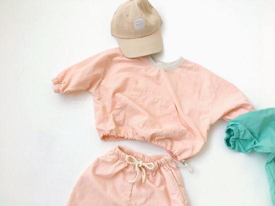 CONCOCTER - Korean Children Fashion - #Kfashion4kids - Lalala Anorak Top Bottom Set - 5