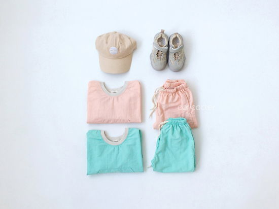 CONCOCTER - Korean Children Fashion - #Kfashion4kids - Lalala Anorak Top Bottom Set - 8