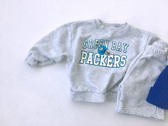 CONCOCTER - Korean Children Fashion - #Kfashion4kids - Packers Top Shorts Set - 4
