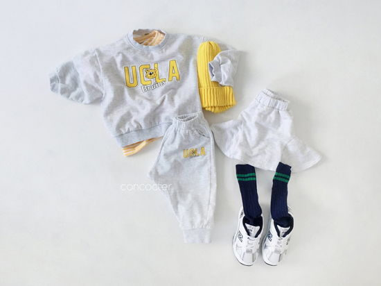 CONCOCTER - Korean Children Fashion - #Kfashion4kids - OOTD Choice Top Pants Set - 4