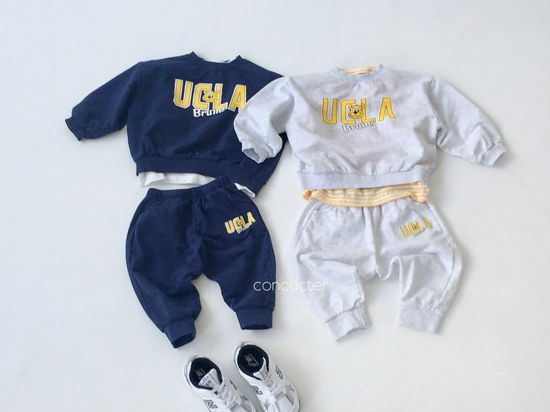CONCOCTER - Korean Children Fashion - #Kfashion4kids - OOTD Choice Top Pants Set - 6