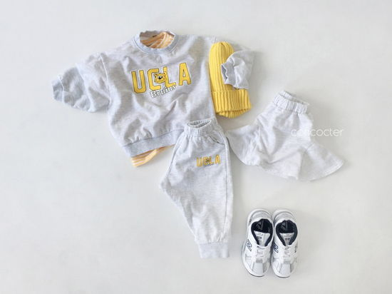 CONCOCTER - Korean Children Fashion - #Kfashion4kids - OOTD Choice Top Pants Set - 9