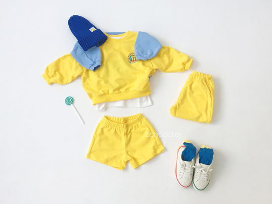 CONCOCTER - Korean Children Fashion - #Kfashion4kids - Very Good Sweatshirt+Tee+Shorts+Pants Set - 7