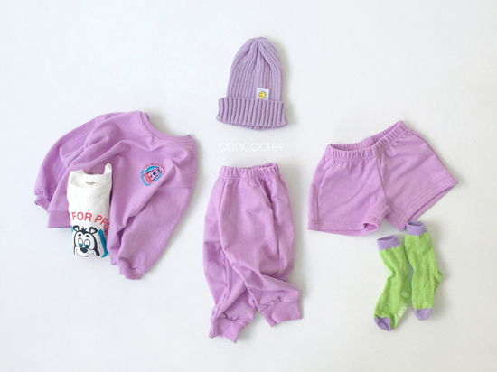 CONCOCTER - Korean Children Fashion - #Kfashion4kids - Very Good Sweatshirt+Tee+Shorts+Pants Set - 8