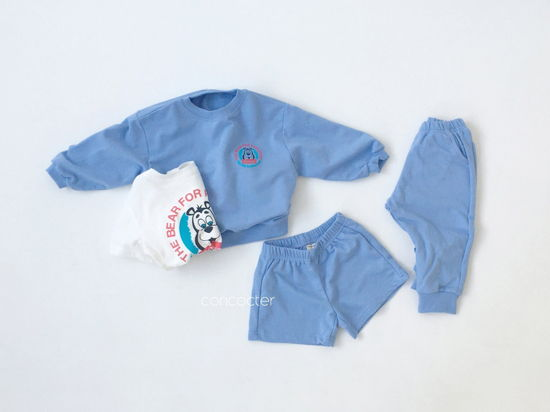 CONCOCTER - Korean Children Fashion - #Kfashion4kids - Very Good Sweatshirt+Tee+Shorts+Pants Set - 9